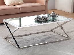 classy steel glass coffee table about home decoration ideas