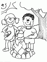 camp fire coloring pages coloring pages ages coloring