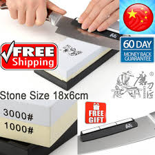 Sharpening Stones For Kitchen Knives Taidea Dual Side 600 U00261000 Grit Professional Kitchen Knife
