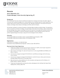 Resume Manager Sample Sample Resume For Manager Operations