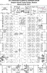 boston flower garden show floor plan floor plan