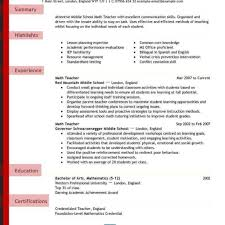 teachers resume template teachers resume exle teachers resume sles resume format 2017