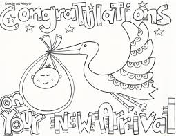 free printable baby shower coloring pages kids coloring