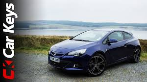 vauxhall astra vauxhall astra gtc 2014 review car keys youtube