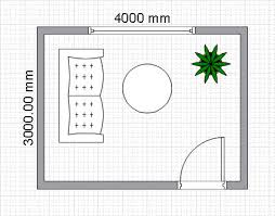 scaled floor plan room planning with conceptdraw