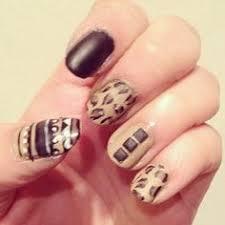 cheetah nail designs cross cheetah diamonds nails nails
