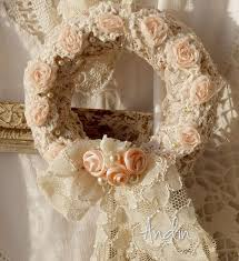 417 best wreaths shabby chic images on pinterest shabby chic