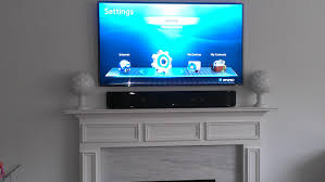 decoration astonishing mounting a tv over a fireplace with tile