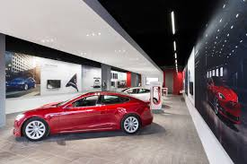 suv tesla inside tesla opens new sales and service location in oakville perspective