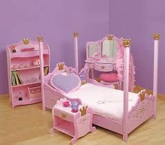 Wooden Girls Vanity Bedroom Creating Elegant Look Of The Bedroom By Girls Wood Canopy