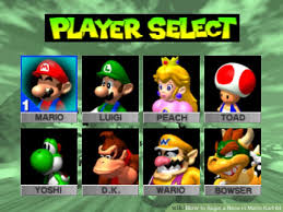 race mario kart 64 5 steps pictures