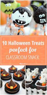 Classroom Halloween Party Ideas 10 Halloween Treats Perfect For Classroom Snack Tip Junkie