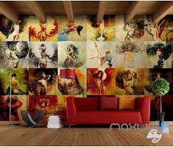 3d Bedroom Wall Paintings 3d Paint Beauty Wall Art Prints Wall Paper Wall Mural Decals