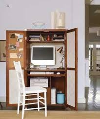 St James Armoire 21 Ideas For An Organized Home Office Real Simple