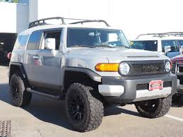 toyota land cruiser certified pre owned certified pre owned 2014 toyota fj cruiser 4dr 4wd at sport