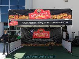 bbq tent 10x15 custom pop up tent melvin s bbq