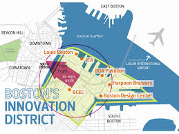 Boston Logan Airport Map 6 Things You Should Realize About The Innovation District Curbed