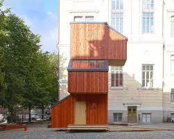 kokoon tiny prefab dwellings to address finlands housing needs