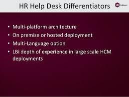On Premise Help Desk Software Hr Help Desk