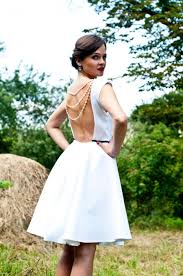 short wedding dress simple wedding dress tea length wedding