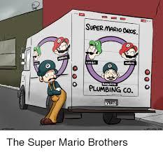 Plumbing Meme - luig o supermarioeros mario luigi mario o plumbing co 5mbris on o