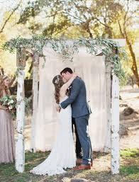 Wedding Arches And Arbors Ethereal Diy Northern California Wedding Moorea Max Green