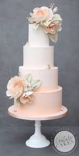 peach ombre wedding cake tiered wedding cakes couture cakes