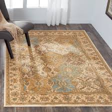 Free Area Rugs Nourison Modesto Beige Traditional Area Rug 7 10 X 10 6 Free