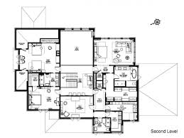 Tuscan Farmhouse Plans Simple Three Bedroom House Plan Plans One Story Flat Drawing Home