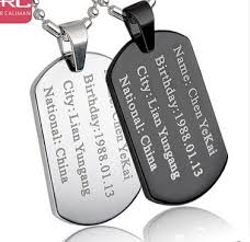 engravable dog tags for men search on aliexpress by image