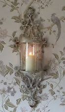 Shabby Chic Wall Sconces Sconce Light Holders Ebay