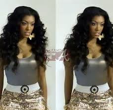 what type of hair does porsha stewart wear porsha stewart s weave lands hair care photo shoot is kordell