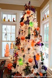 Orange Decorations For Christmas Tree by 15 Halloween Tree Diy Decorations How To Make A Halloween Tree