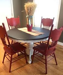 kitchen table refinishing ideas chalk paint for kitchen table best painted kitchen tables ideas on