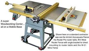 table saw router combo mule cabinetmaker carpentry tools for carpenters that need