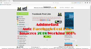 javascript imacros tutorial addmefast auto post like facebook imacros 2018 working 100 auto