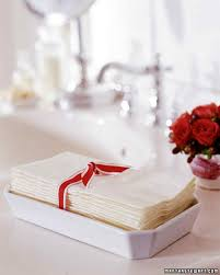 Towel Folding Ideas For Bathrooms Prepping For Houseguests Martha Stewart