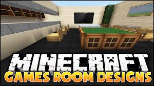 minecraft games room designs u0026 ideas youtube