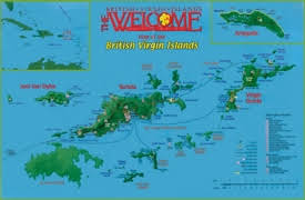 map of the bvi islands maps maps of islands bvi
