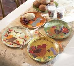 thanksgiving plate sets from pottery barn melamine pla