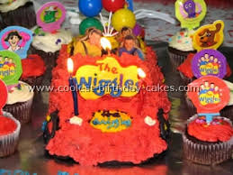 coolest homemade wiggles cakes