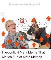 Reddit Meme Generator - reddit meta meme that explains each part of a meme template that s