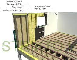 maison en bois interieur charmant construire ma maison en bois 1 mur ossature bois le