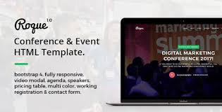 html templates for events from themeforest