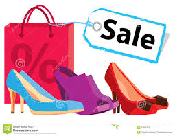 shoe sale stock photos image 15895263