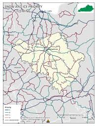 Ky County Map Snow U0026 Ice Operations