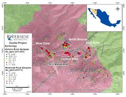 Map Of Sonora Mexico by Riverside Resources Samples Up To 5 45 G T Gold And Establishes 5