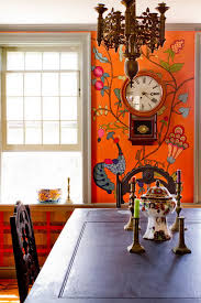 Spice Up Your Dine With Best Eclectic Dining Rooms Bohemian - Dining room mural