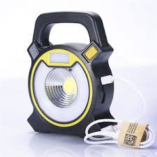 battery powered work lights cob led work light lawn l battery operated 5w 500lm abs hand held
