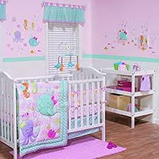 Pink And Aqua Crib Bedding 3 Baby Crib Bedding Set For Whale